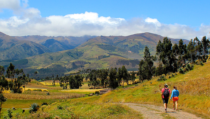 Weci-ecuador-walking